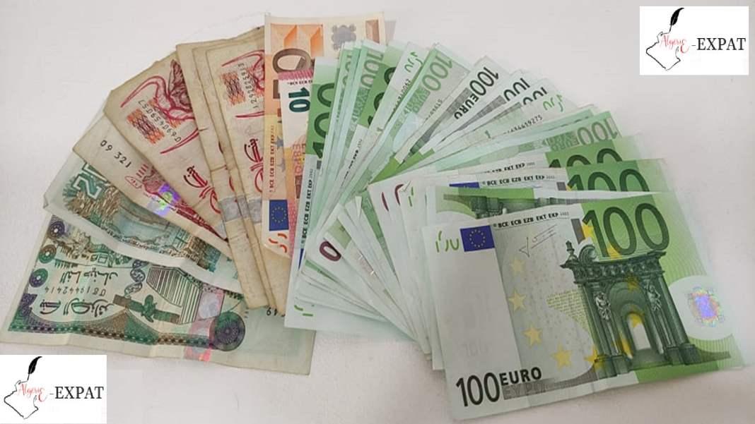 Dinar algérien-Euro