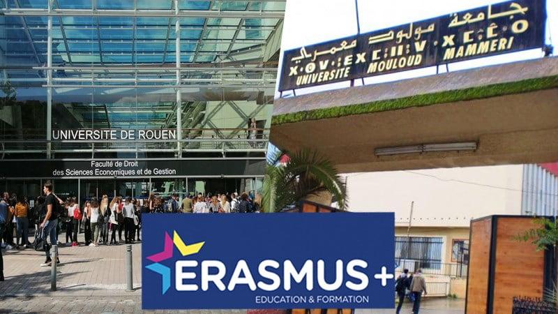 bourses Erasmus pour les étudiants de Tizi-Ouzou