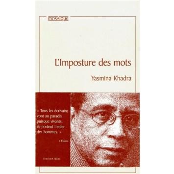 l'imposture des mots Yasmina Khadra Roman en vente sur Algeriemarket.com