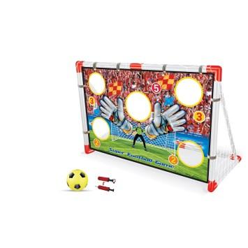 Cage de foot avec mur de tir et ballon AK-031792
