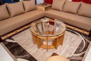 TABLE BASSE TIZOU avec forme arrondie idéale pour un salon