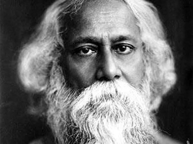 نتيجة بحث الصور عن من هو طاغور شاعر الهند