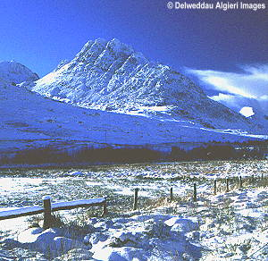 Tryfan In The Snow Photographs Available From Algieri