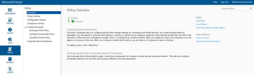 windows 10 migration plan - Microsoft Intune