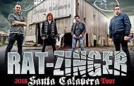 RAT-ZINGER – Fechas de su Santa Calavera Tour 2018