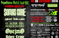 Octava edición del Aquelarre Metalrock Fest el sábado 5 de octubre