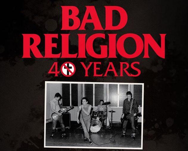 BAD RELIGION- Gira 40 aniversario por España