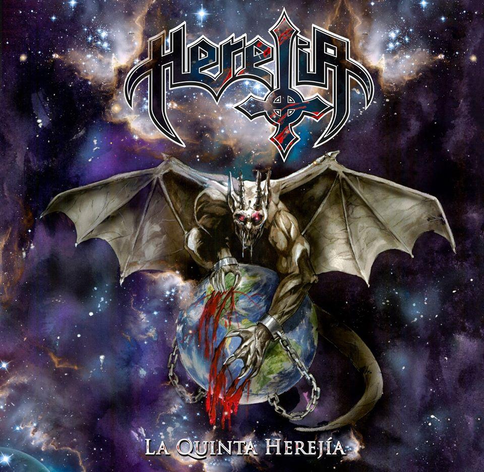[Reseña] de «La Quinta Herejía» el nuevo disco de HEREJÍA