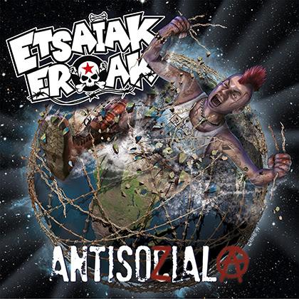 ETSAIAK EROAK: Publica hoy su álbum «Antisozial» + Nuevo videoclip