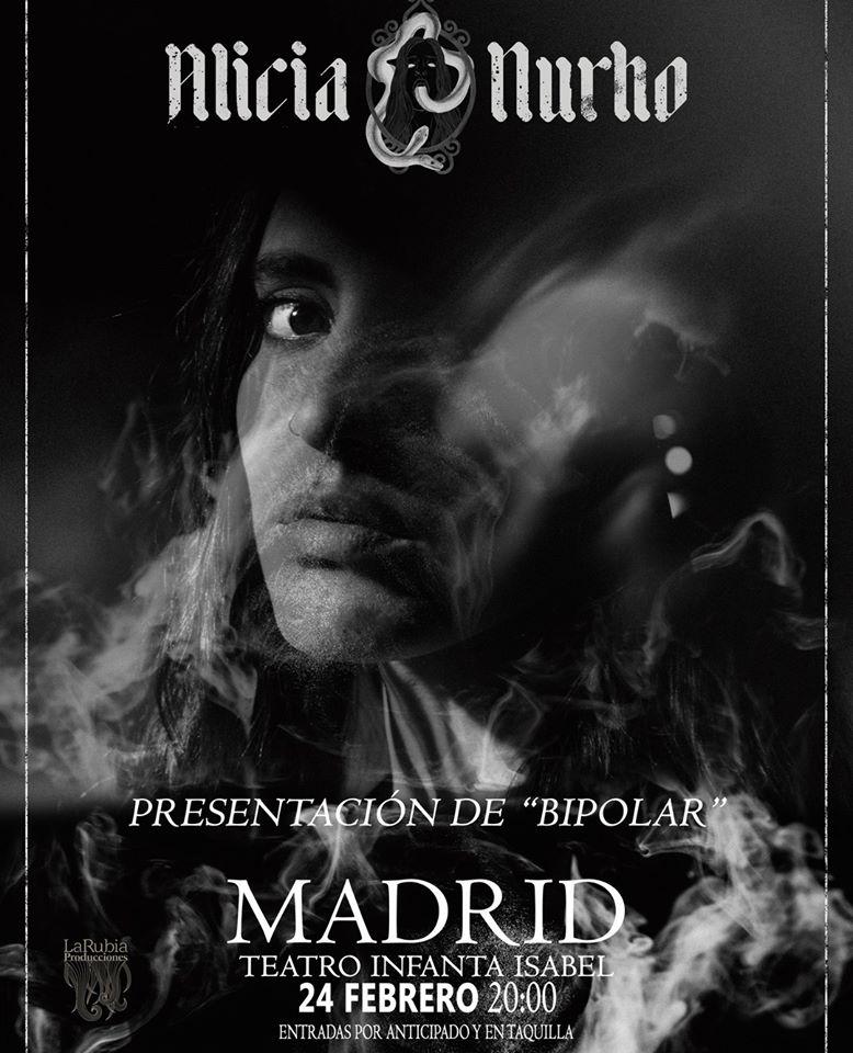 Alicia Nurho presenta Bipolar en Madrid