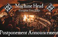 Machine Head aplaza su gira europea
