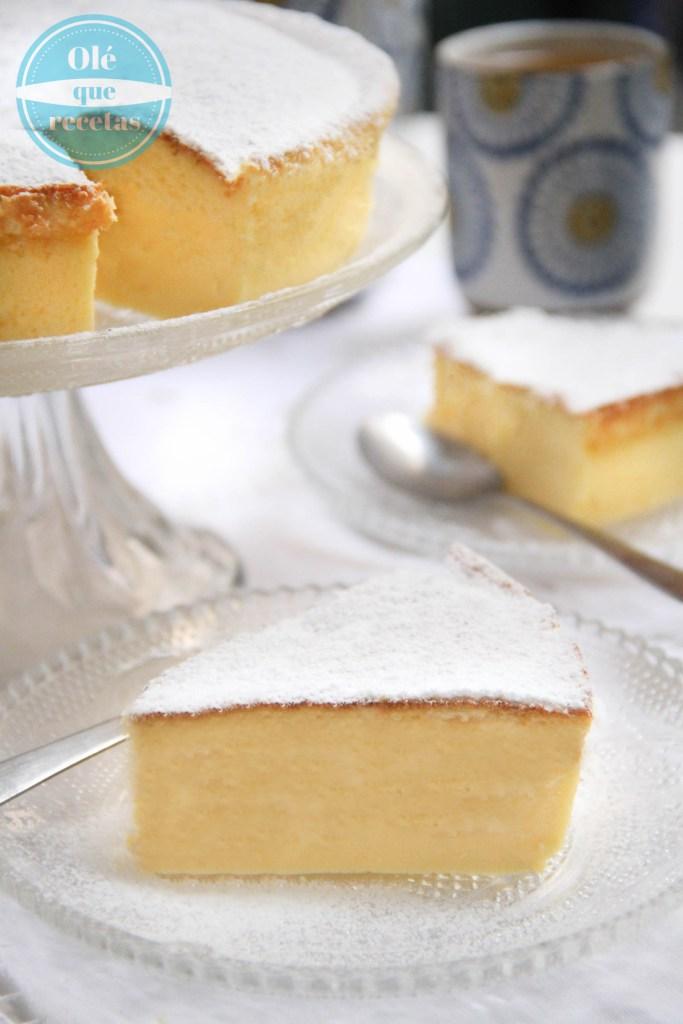 pastel de queso japonés con 3 ingredientes