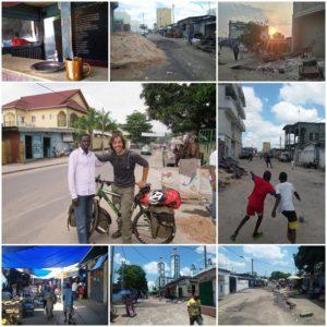 Calles de Brazzaville