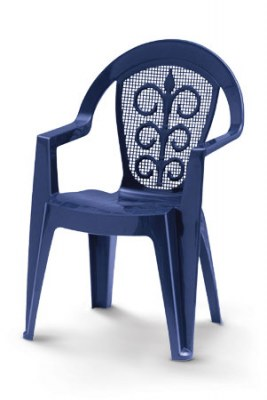 table et chaise en plastique de jardin