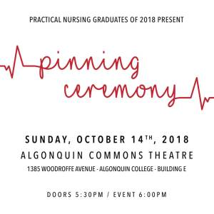 algonquin college students association pinning ceremony 2018