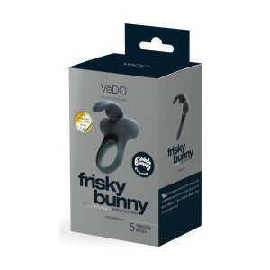 Frisky Bunny Rechargeable Vibrating Ring