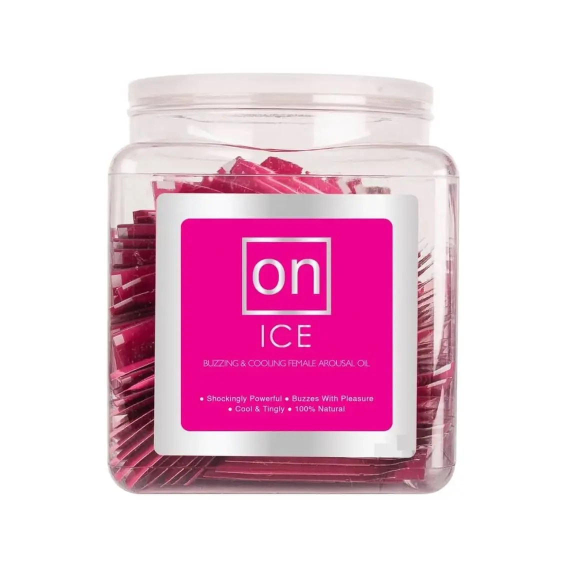 On Ice - Buzzing & Cooling Female Arousal Oil - 75 Sachets