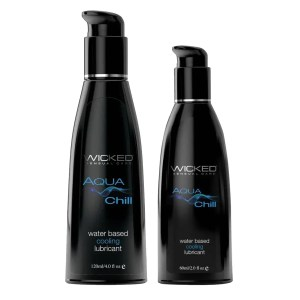 Wicked Aqua Chill - Cooling Sensation Water-Based Lubricant