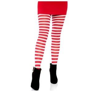 Jada Plus Size Striped Women's Tights by Leg Avenue