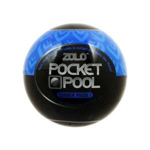 Zolo Pocket Pool Corner Pocket Textured Masturbation Sleeve