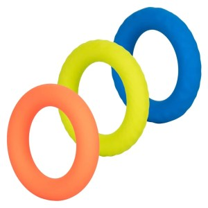 Link Up Ultra-Soft Climax Silicone Penis Rings - Set of 3