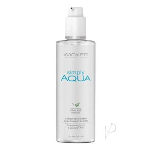 Wicked Simply Aqua Personal Lubricant