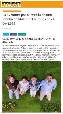 Entrevista familia coronavirus covid-19