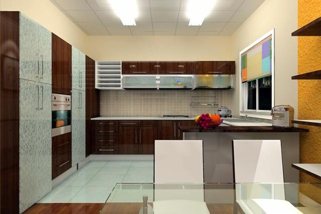 High Gloss Kitchen Cabinet Design Ideas 2015 Kitchen