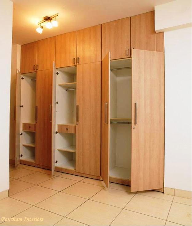 5 Doors Wooden Wardrobe Hpd441 Fitted Wardrobes Al
