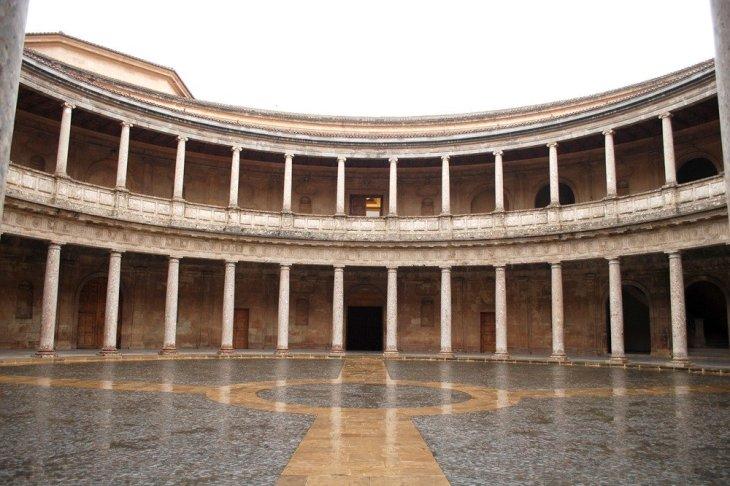 Palacio de Carlos V - Palacio de Carlos V y alrededores ...