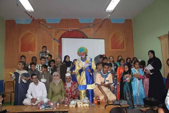 احتفالا بذكرى عيد المولد النبوي الشريف جمعية الحنان لرعاية الأيتام تنظم حفلا ترفيهيا لفائدة الأطفال الأيتام
