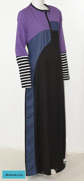 Abaya Sport Style with Pattern ab660