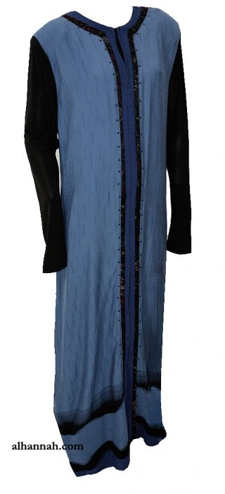 Majidah Abaya - Tailored Pull Over Style ab678