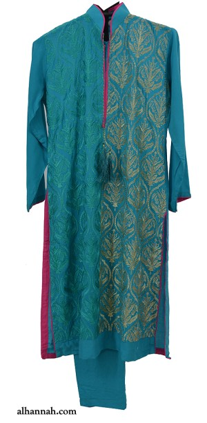 Chicas Deluxe Aqua Formal Salwar Kameez ch511
