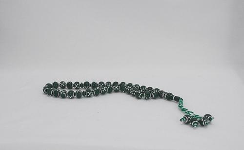 Prayer Beads with Silver Inset Dot Design gi561