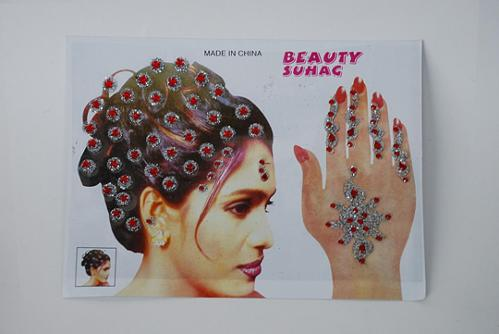 Bridal jewels for hands and hair gi624