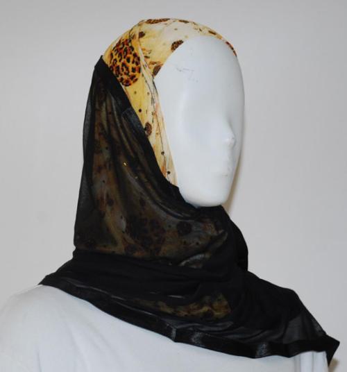 Kuwaiti Style Shayla Wrap hi1519