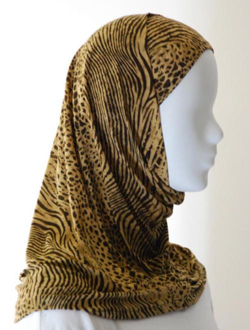 Lycra Al Amirah Hijab hi1556