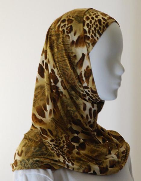 Lycra Al Amirah Hijab hi1565