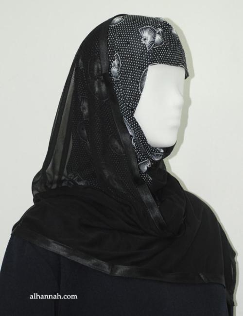 Kuwaiti Style Shayla Wrap hi1891