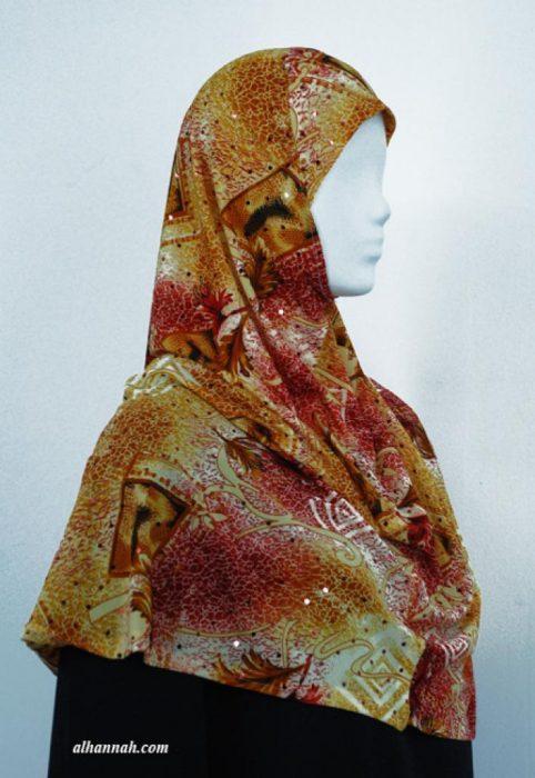Printed Al Amirah Hijab hi1922