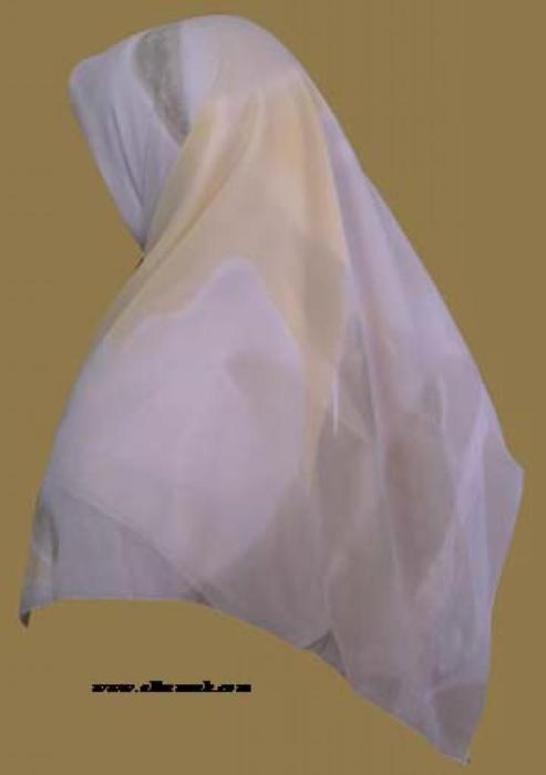 Lightweight Georgette Hijab   hi947