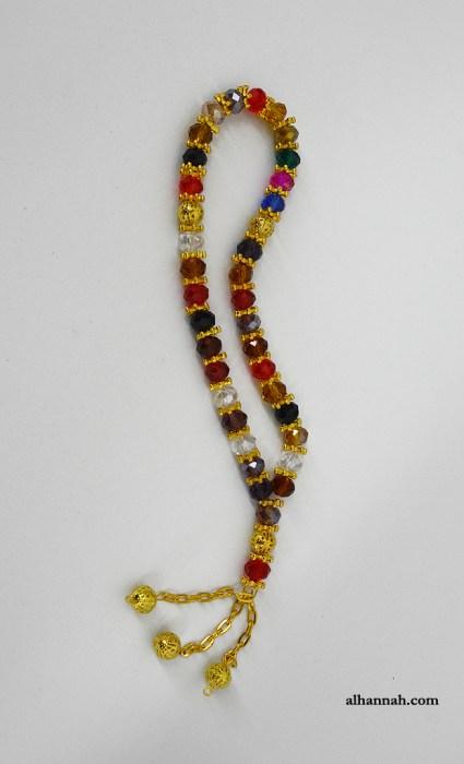 Multi Color Deluxe Prayer Beads ii1073