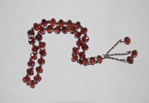 Cut Crystal 33 Bead Tasbih Prayer Beads  ii901