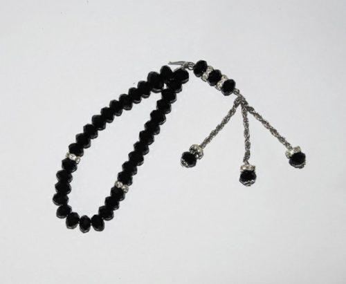 Cut Crystal 33 Bead Tasbih Prayer Beads  ii902