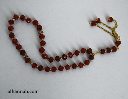 Premium Prismatic Cut-Crystal Prayer Beads ii959