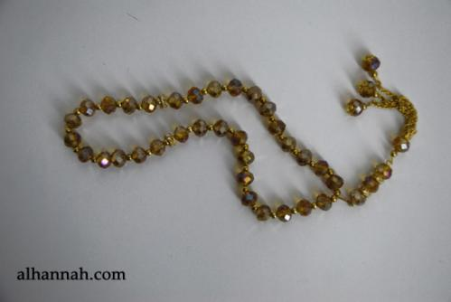 Premium Prismatic Cut-Crystal Prayer Beads ii962