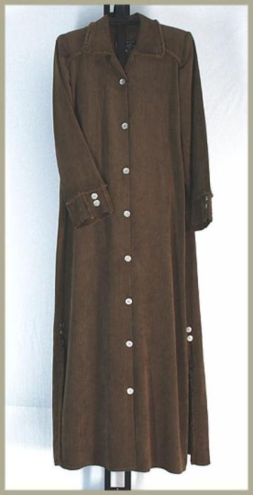 Jilbab - Corduroy Style with pants ji612