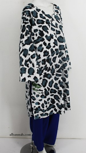 Leopard Print Pants and tunic