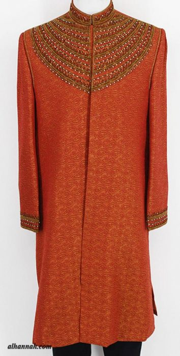 Mens Deluxe Sherwani Suit Jacket me650